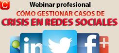 webinar profesional como gestionar casos de crisis en redes sociales community internet social media enrique san juan
