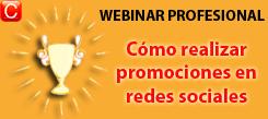 webinar profesional como realizar promociones en redes sociales community internet social media enrique san juan