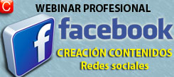 webinar profesional creacion contenidos redes sociales facebook community internet social media enrique san juan