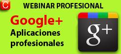 webinar profesional google+ redes sociales community internet social media enrique san juan