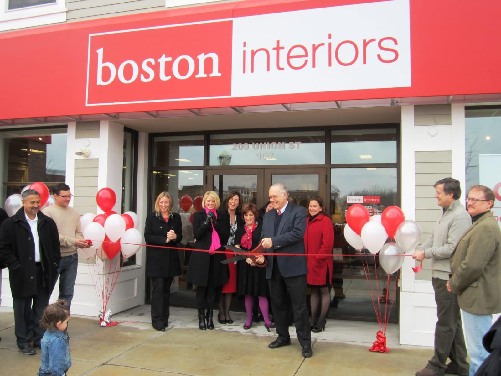 Boston Interiors Celebrates Grand Opening Of New