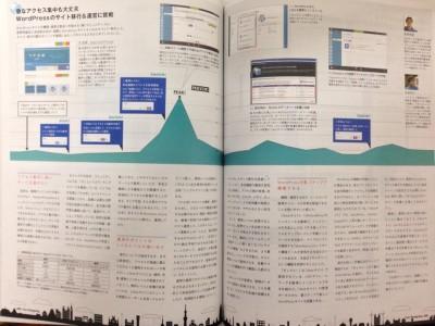 Web Designing (ウェブデザイニング) 2014年3月号に寄稿しました。