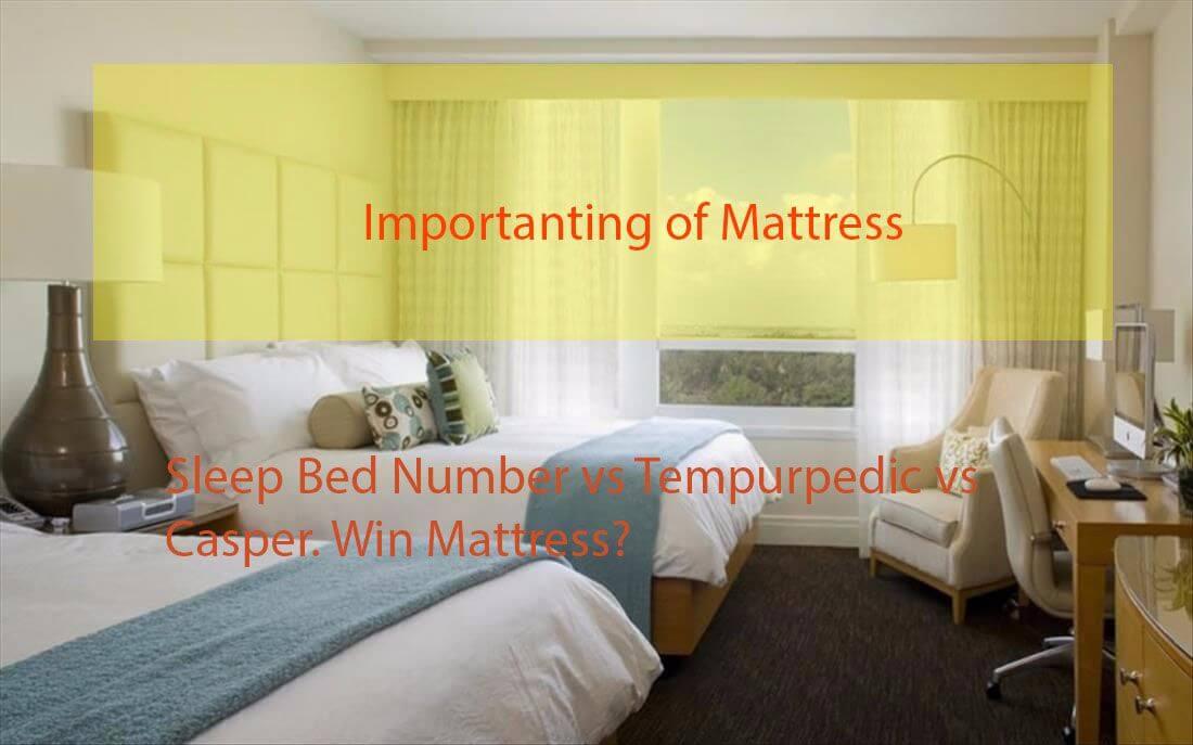 Best Sleep Number Bed Vs Casper Vs Tempurpedic Reviews