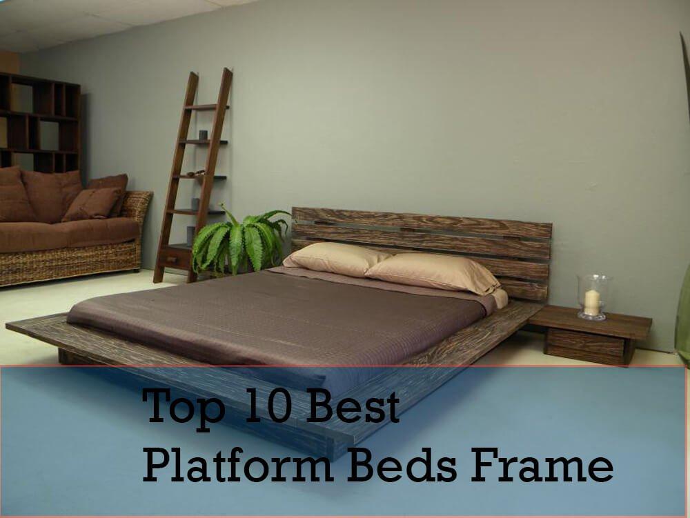 Top-10-Best-Mattress-and-Platform-Beds-Frame-in-2018