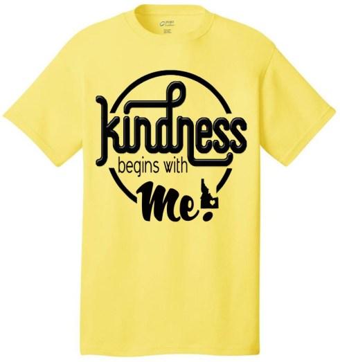 kindness begins with me Idaho design - Mrs Pocatello