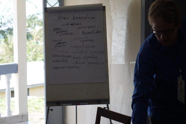 Brainstorming on Peace Journalism