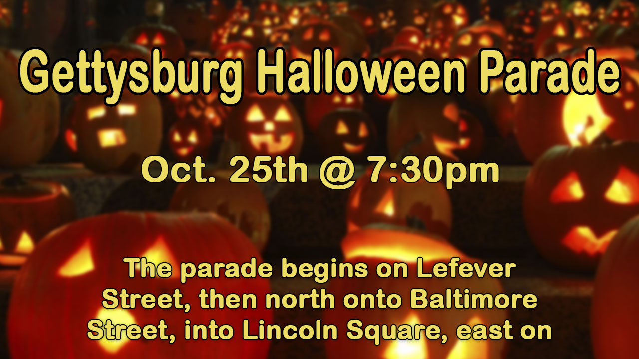 the annual halloween parade starts at 730pm enjoy participants such as marching bands floats baton twirling groups costumed individuals and more