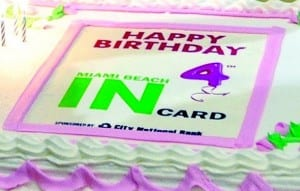 Magnificent The Miami Beach Incard Turns 4 Miamis Community News Funny Birthday Cards Online Alyptdamsfinfo