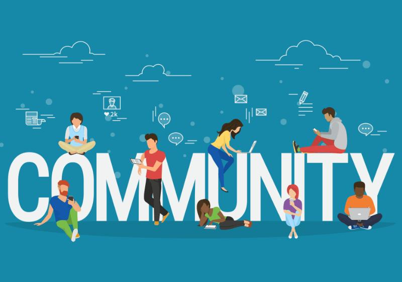 Build Community graphic