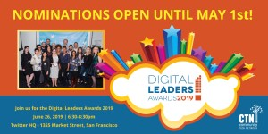 Digital Leader awards logo and call for nominations