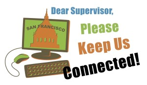 Please Support the Keep Us Connected Campaign 2015