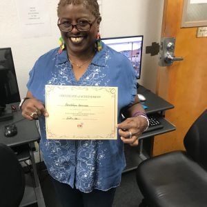 I.T. Bookman learner with certificate