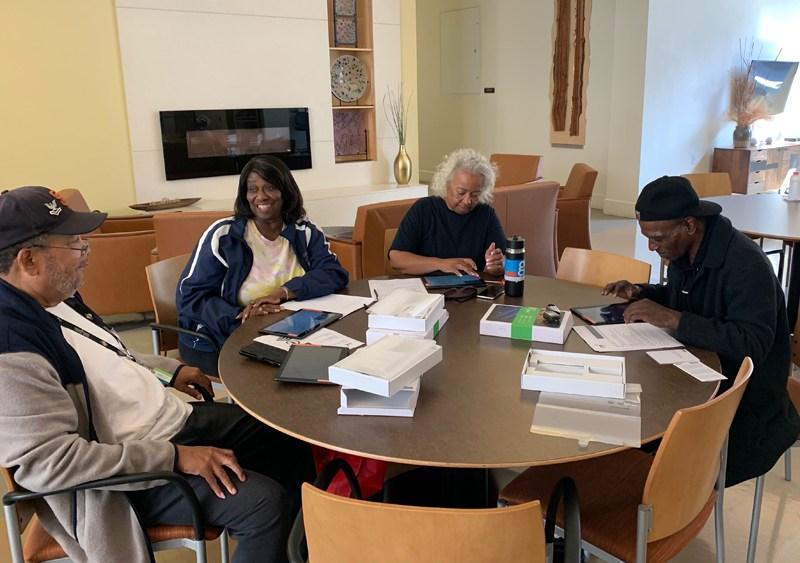 Seniors get computer training