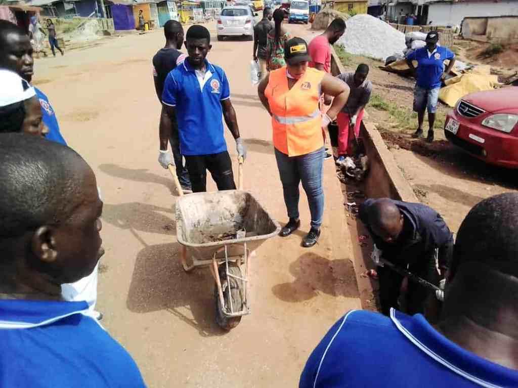 Image of Cleanup Atwima Nwabiagya district