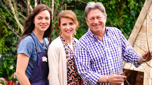 Just Wood Leicestershire on 'Love your Garden'!