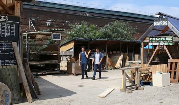 Video: New home for Bristol Wood Recycling Project
