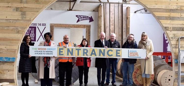 Launch Day for Wood Saints Wolverhampton