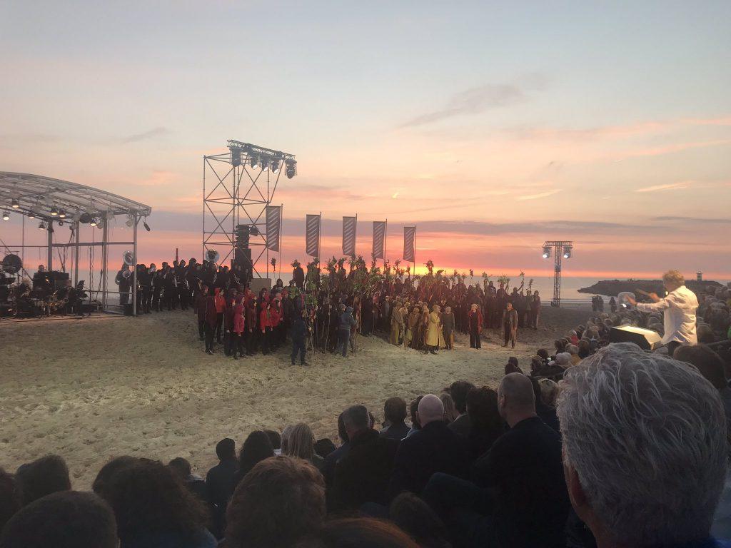 Corona-afgelast in 2020; Festival Classique - hier in 2019 tijdens 'Aïda aan Zee'