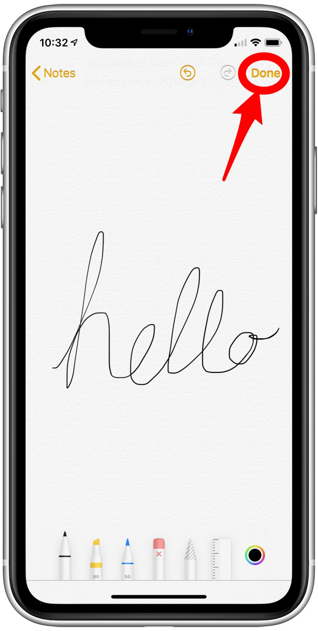 How to draw and draw in the Notes app on your iPhone or iPad