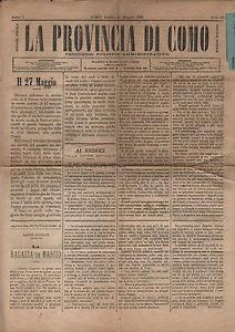26 05 1883 la provincia