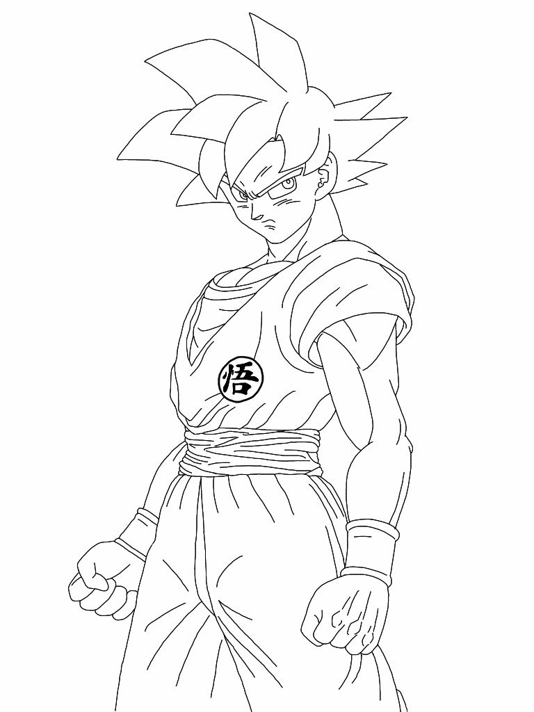 Broly Vs Z Ball Coloring Pages Goku Dragon