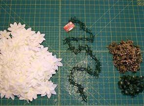 materiais necessários para luminária de papel de arroz