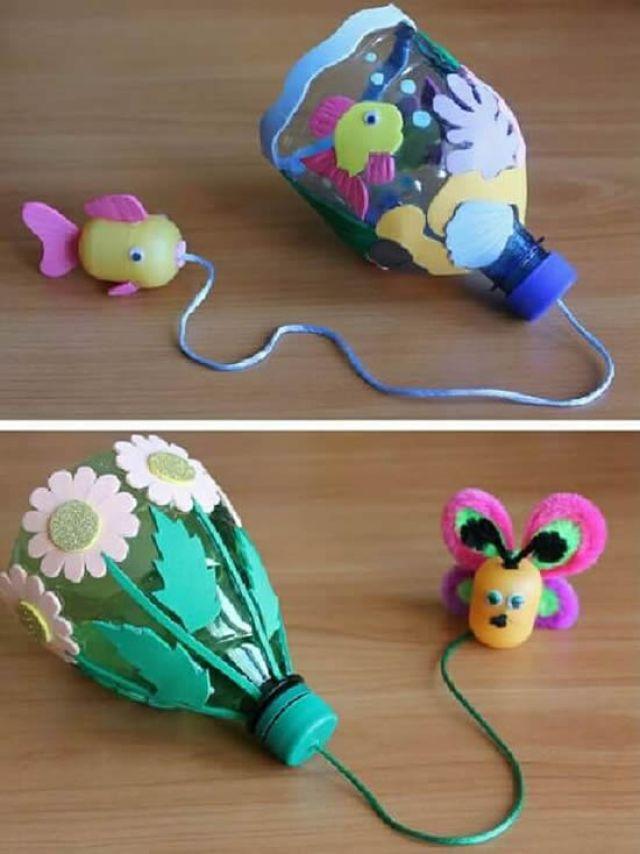 Brinquedos Reciclados com Garrafa PET