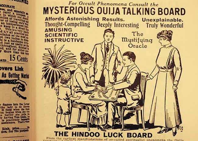 Reglas para jugar a la Ouija