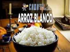 Como hacer arroz blanco