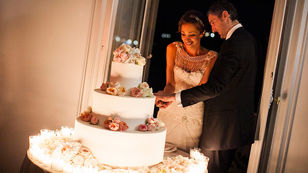 How the wedding cake is cut Different traditions govern how and when the cake is served     for example   at what point during the reception should the cake service occur