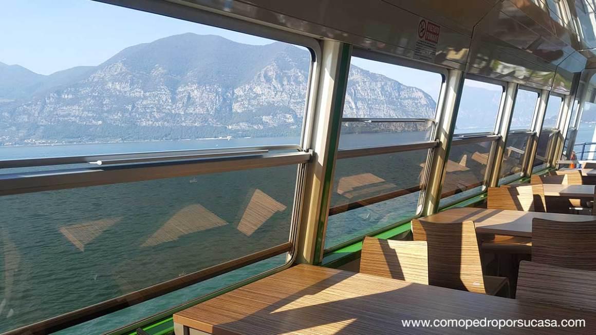 Ferry por el Lago de Iseo