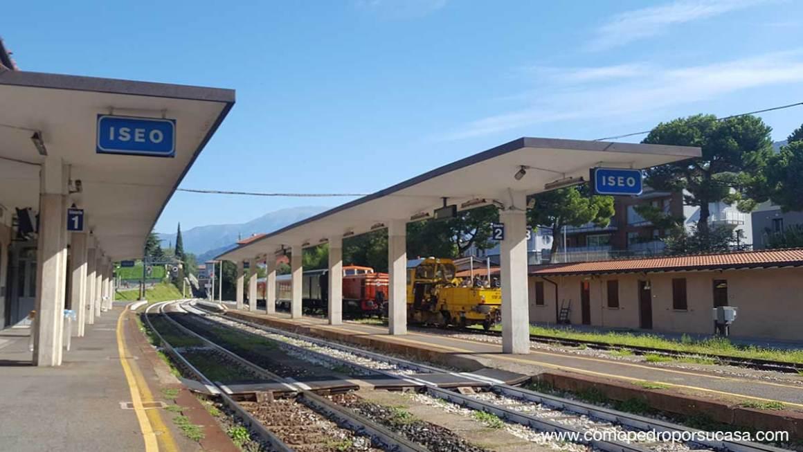 Estación de tren Iseo