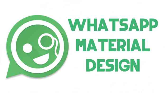 instalar whatsapp material design