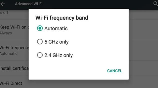 cómo reparar error de wifi en android