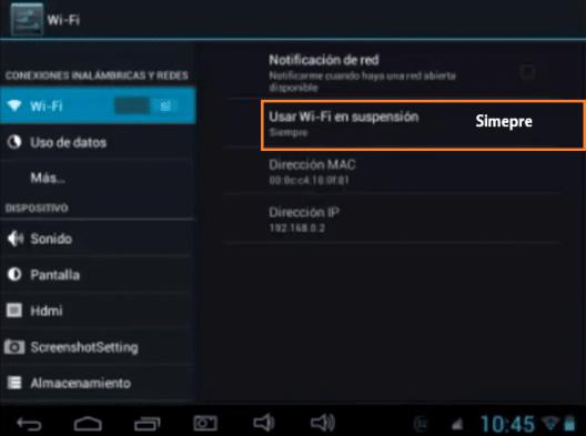 reparar error de Wifi en una Tablet