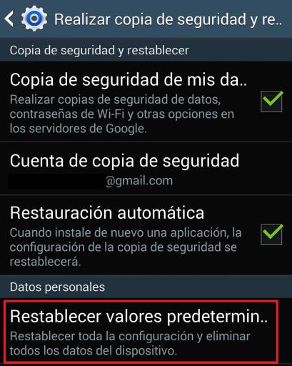 reparar Gooogle Play o Whatsapp