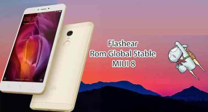 Flashear Xiaomi redmi note 4X