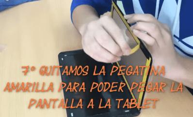 android kitkat reparar pantalla tablet android