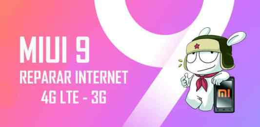 como reparar internet 4g 3g en miui 9 android xiaomi