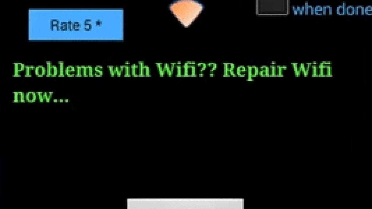 fxr wifi fix and rescue apk