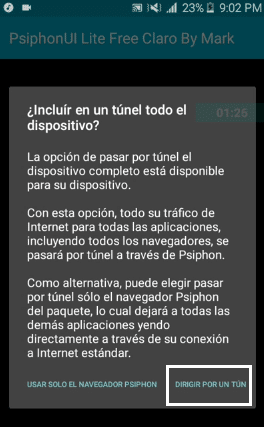 descargar Psiphon Lite Free Claro By Mark 1 apk 2017