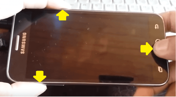 reparar movil android galaxy j2 resetear