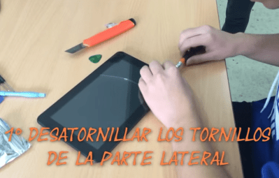 reparar pantalla tablet android