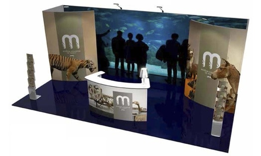 10x20 Modular Exhibit