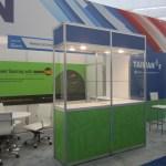 Octanorm custom exhibit show case