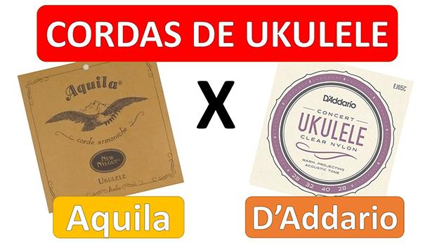 Cordas Para Ukulele Aquila VS D'Addario