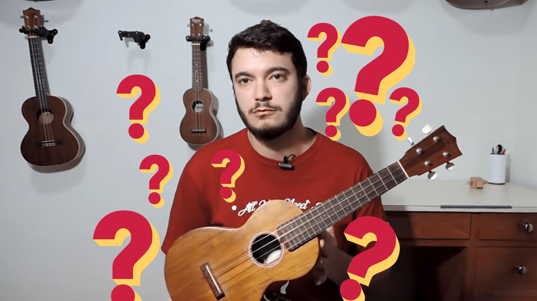 Qual Ukulele Comprar? Qual ukulele escolher?