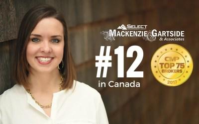 #12 in Canada CMP Top 75