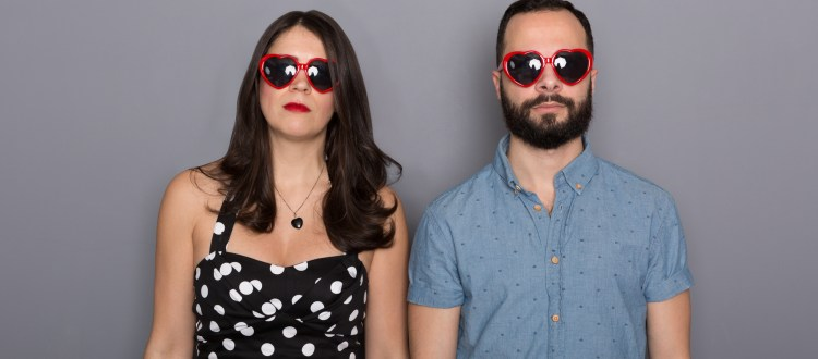 Can't Lit Podcasters Daniel Zomparelli and Dina Del Bucchia