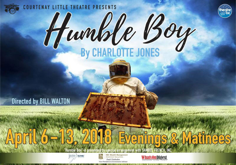 """CLT presents """"Humble Boy"""" by Charlotte Jones at the Sid Williams Theatre"""